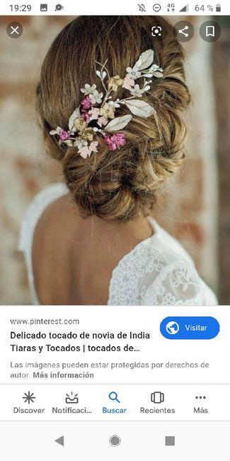 Tiaras,tocados de flores,pedrería,plata,dorado...cual eligiriais?? 8