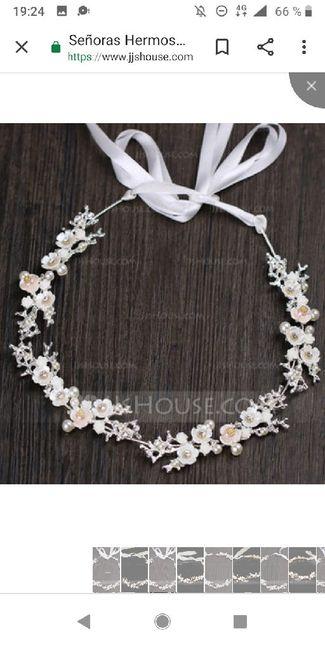 Tiaras,tocados de flores,pedrería,plata,dorado...cual eligiriais?? 17