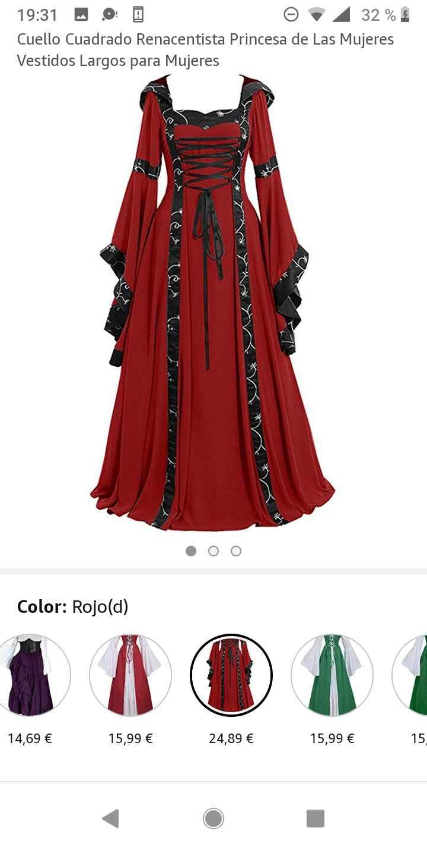 Boda medieval: vestidos de invitadas medievales 6
