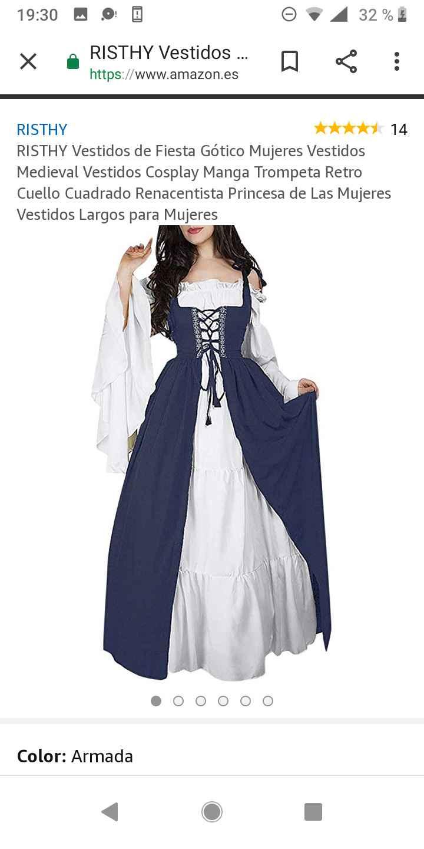 Boda medieval: vestidos de invitadas medievales 9
