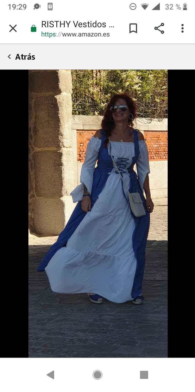 Boda medieval: vestidos de invitadas medievales 10
