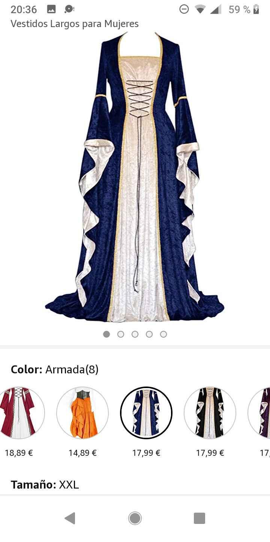 Boda medieval: vestidos de invitadas medievales 1