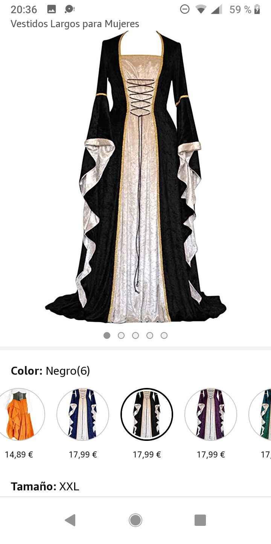 Boda medieval: vestidos de invitadas medievales 2