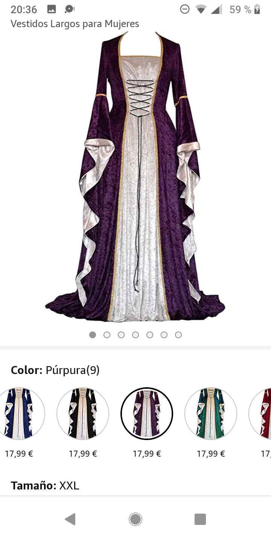 Boda medieval: vestidos de invitadas medievales 3