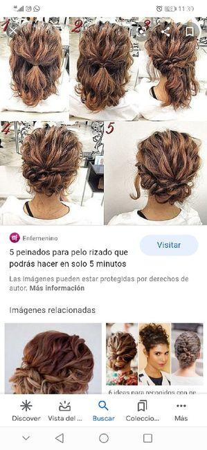 De bajón con la peluquería. Ayuda pelo rizado 😩!! 4