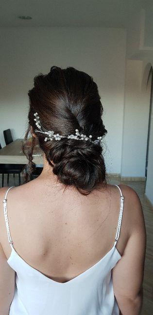 Mi prueba de peinado y maquillaje - 4