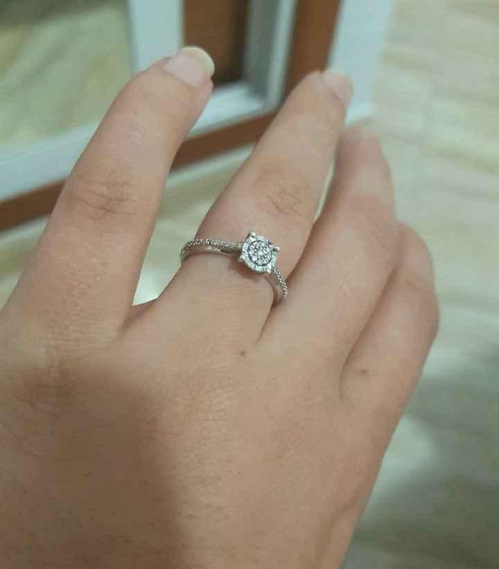 Mi anillo de pedida! 😍👫💍 - 1