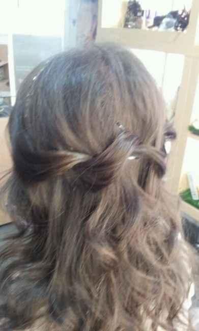 Segunda prueba de peinado - 1