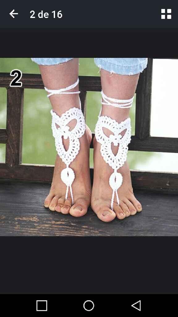 Que me recomendáis zapatos boda playa - 1