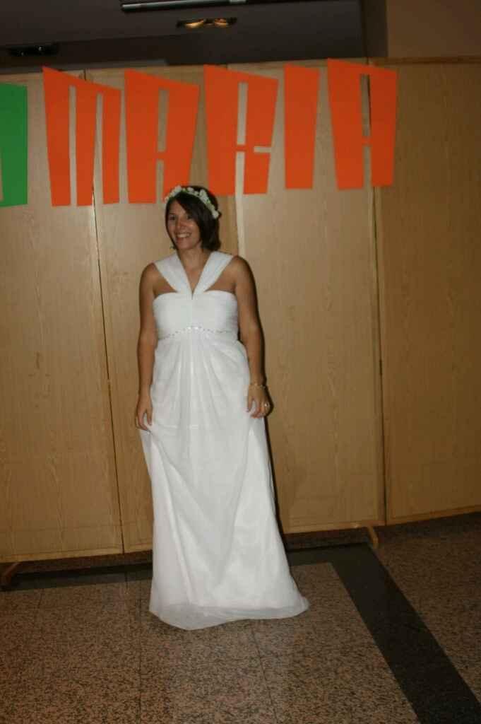Como es sus vestido de novia - 1