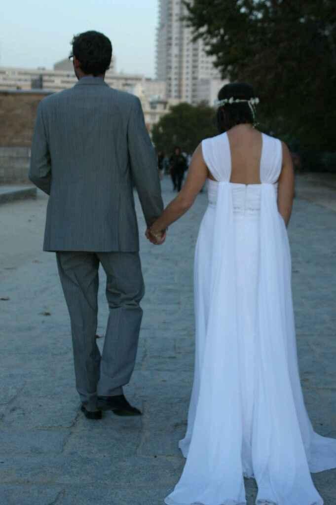 Como es sus vestido de novia - 2