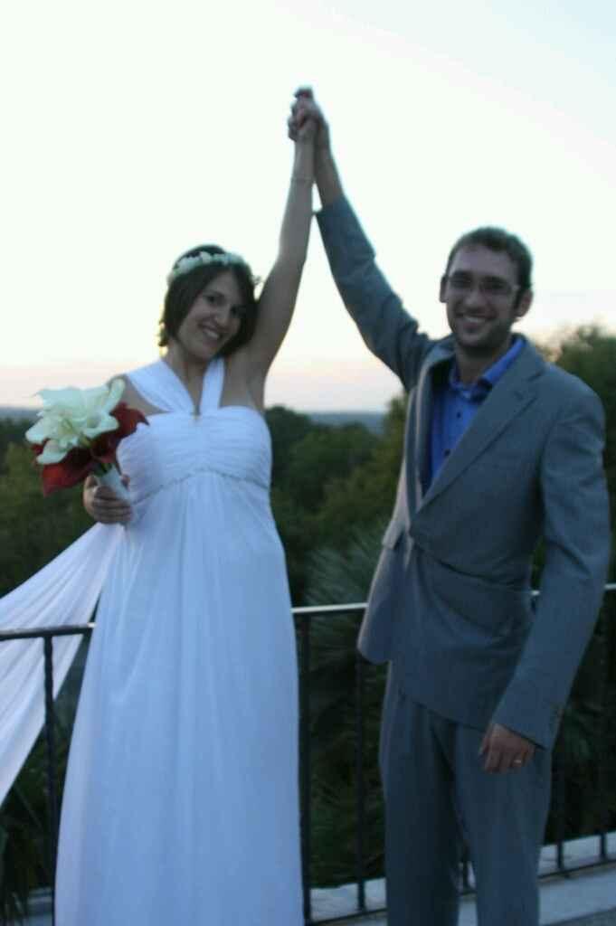 Como es sus vestido de novia - 3