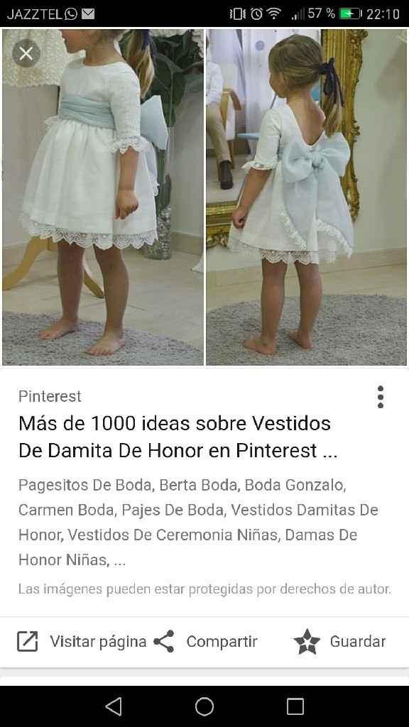Ideas vestido damitas - 5