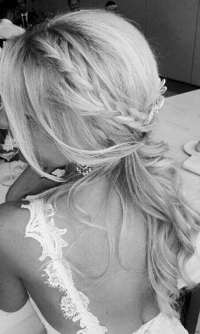 Nuestros peinados y maquillajes de novia - 1