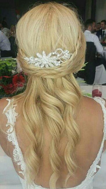 Nuestros peinados y maquillajes de novia - 3