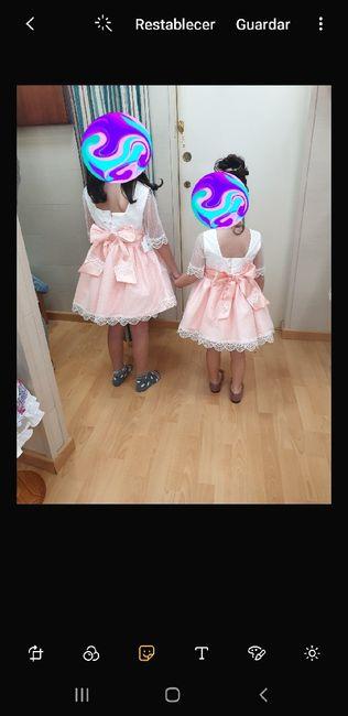 Vestido niñas harras - 2