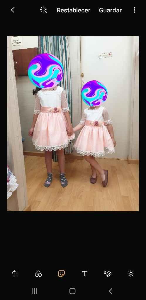 Vestido niñas harras - 1