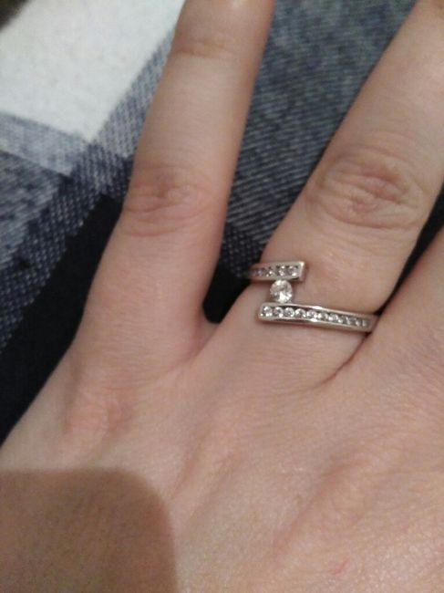 Mi anillo de compromiso. - 1