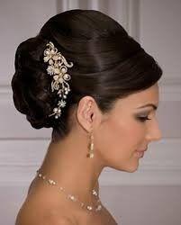 Peinados recogidos para novias gorditas