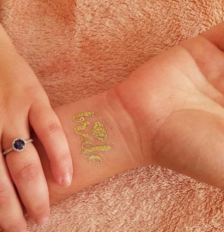 Tatuaje bride / team bride - 1