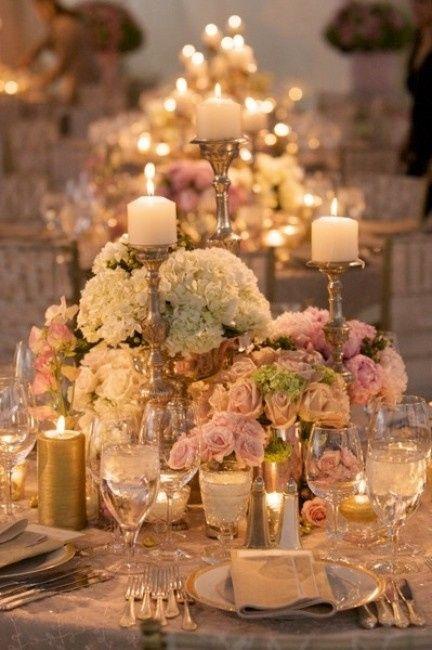 Bodas tematicas por colores rosa claro o rosa palo organizar una boda foro - Bodas tematicas ...