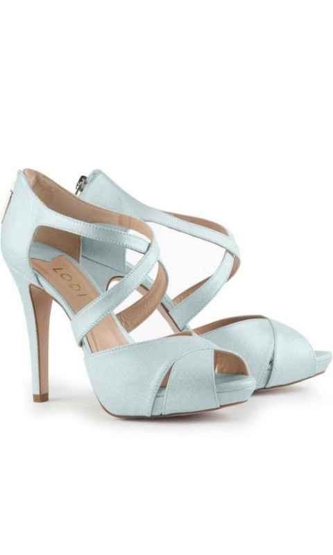 zapatos azul bebe