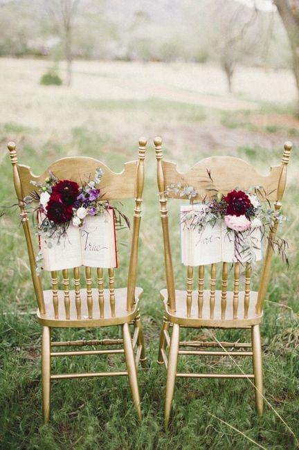 Sillas de novios para enamorar organizar una boda for Sillas para novios