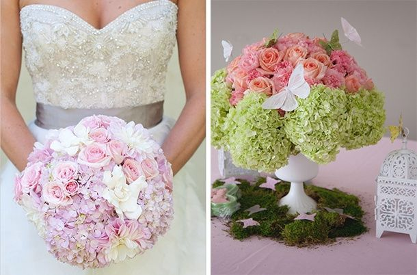 decora tu boda con: hortensias!! - organizar una boda - foro bodas