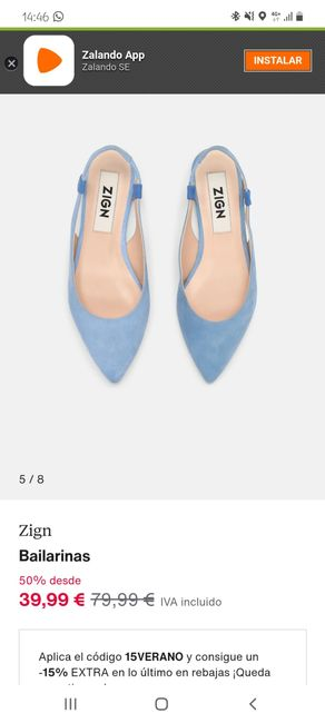 Zapatos azules👰🏻♀️💙 1