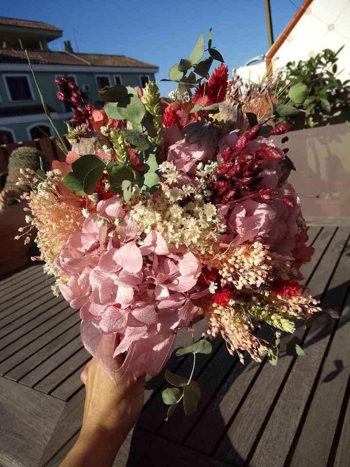 Mi ramo de flores preservadas pulseras y prendidos - 1