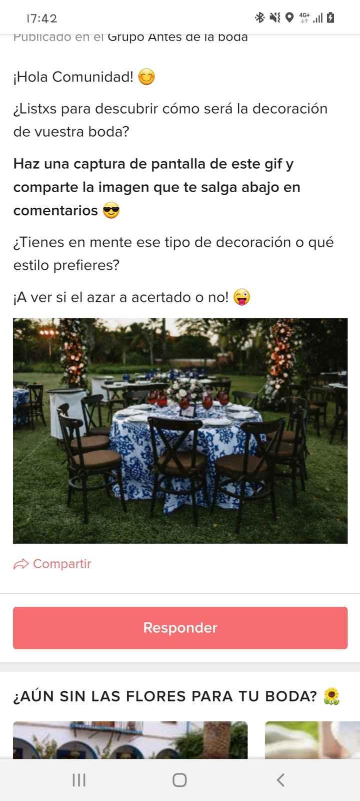 ¡Haz screenshot al gif y descubre la decoración de tu boda! - 1