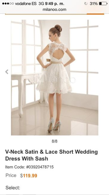 vestido para la firma en el juzgado - moda nupcial - foro bodas