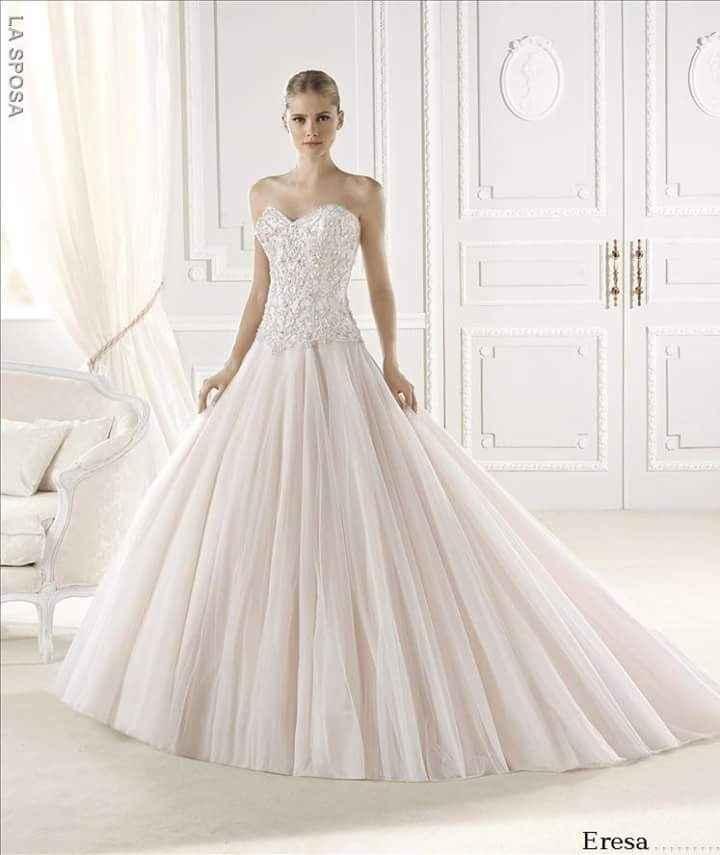 Vestidos de novia dignos de una princesa - 1