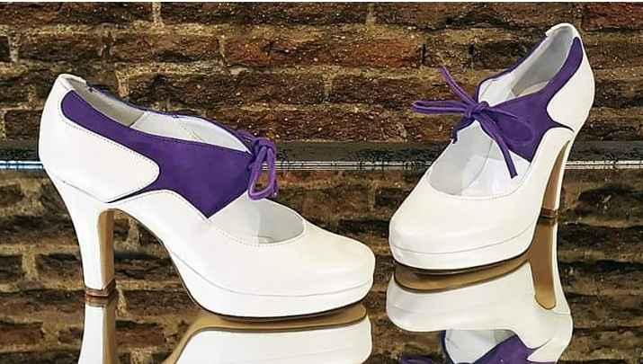 Zapatos morados - 1