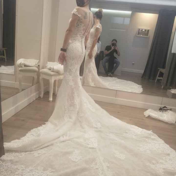 ¡Cola del vestido! - Hablemos♥ - 2