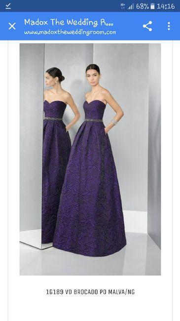 Vestidos de novia de color - Madrid - Foro Bodas.net
