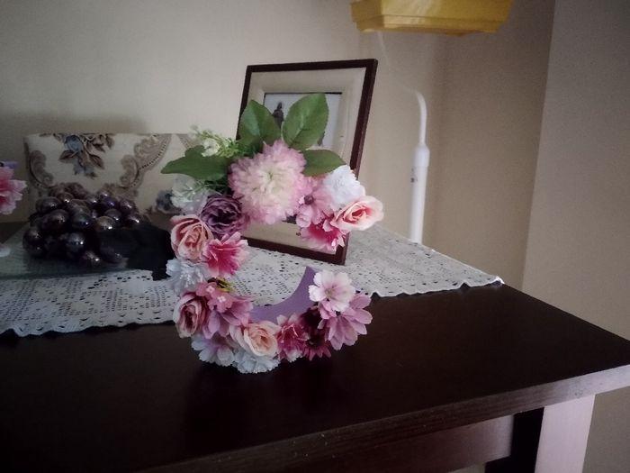 Letras  con Flores - 3