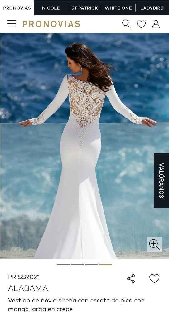 Vestido de novia de películas - 2