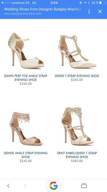 Zapatos con pedreria - 1