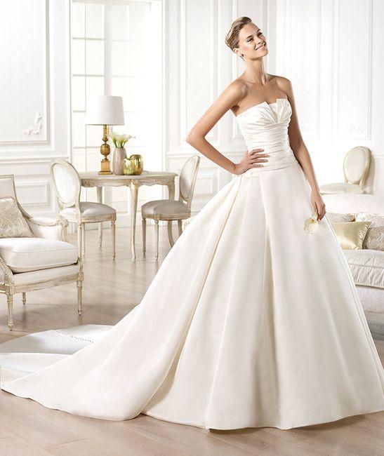 vestido georgia pronovias - moda nupcial - foro bodas
