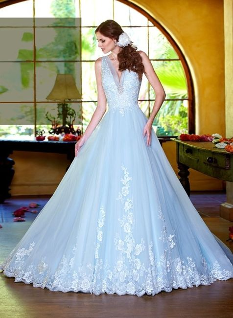 Vestidos de novia a todo color!! 12