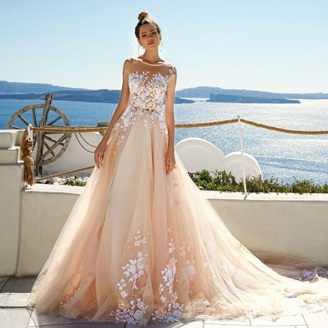 Vestidos de novia a todo color!! 13
