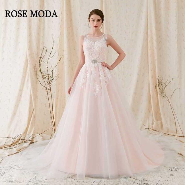 Vestidos de novia a todo color!! 14