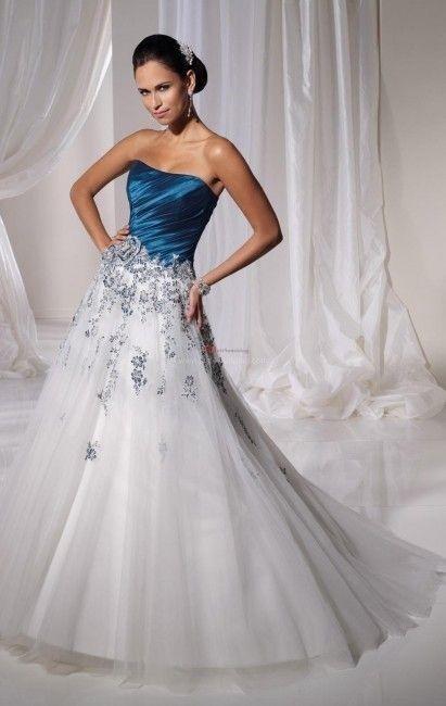Vestidos de novia a todo color!! 16