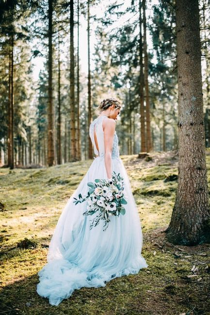 Vestidos de novia a todo color!! 17