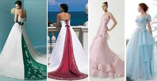 Vestidos de novia a todo color!! - 4