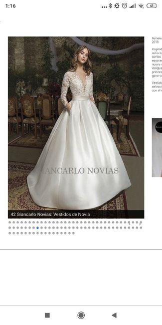 Precio del vestido de novia - 1