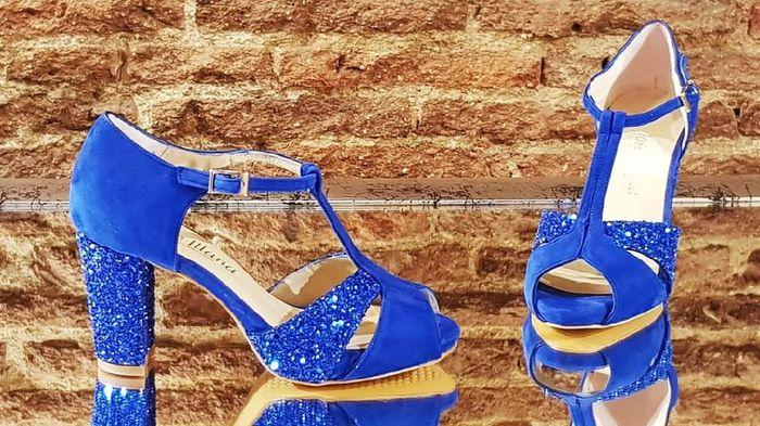 En busca y captura... de zapatos azules!! 2