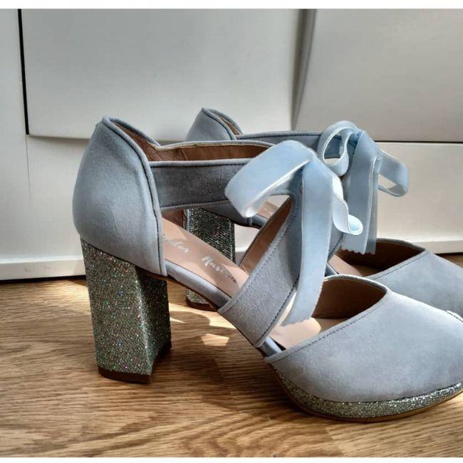 Sos zapatos azules 6