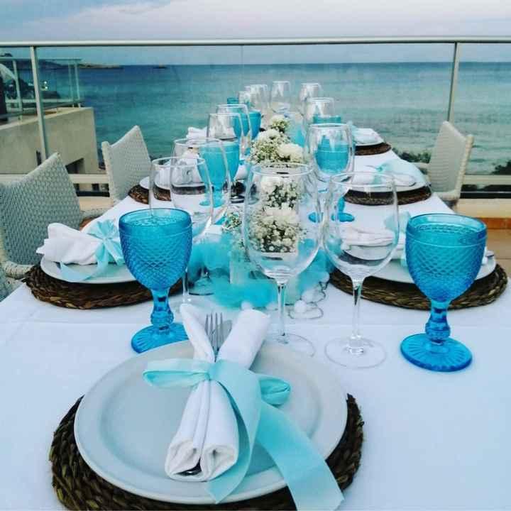 Diseña las mesas de boda: la cristalería - 1